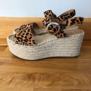 Marc Fisher Rex platform espadrilles sandal
